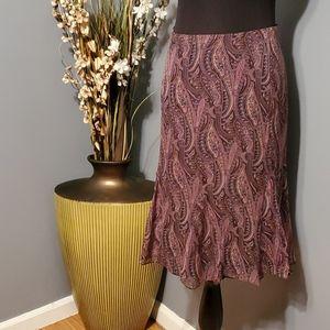 Charter Club Silk Skirt size 14